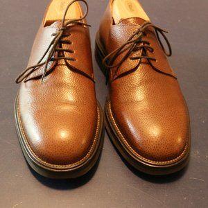 Martin Dingam Mens 8 1/2 Brown Dress Shoes